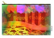 Happy Holidays - Christmas Packages - Holiday And Christmas Card Carry-all Pouch
