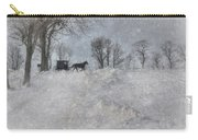 Happy Holidays From Pa Carry-all Pouch by Lori Deiter