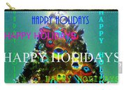 Happy Holidays Word Splash A Carry-all Pouch