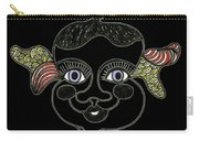 Happy Licorice Girl Carry-all Pouch