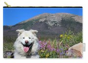 Happy Mountain Dog Carry-all Pouch