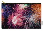 Happy New Year Fireworks Night Scene Carry-all Pouch