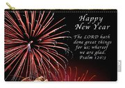 Happy New Year Psalm 123-3 Carry-all Pouch