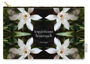 Happy - Omar Khayyam Quote  Carry-all Pouch by Susan Bloom
