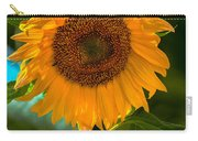 Happy Sunflower Carry-all Pouch