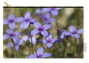 Happy Tiny Bluet Wildflowers Carry-all Pouch