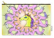 Happy Unicorns Carry-all Pouch