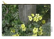 Happy Yellow Flowers Carry-all Pouch