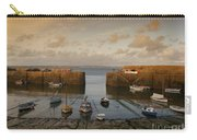 Harbor At Dusk Carry-all Pouch by Pixel Chimp