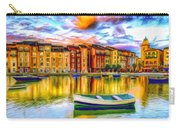 Harbor At Sunset Carry-all Pouch