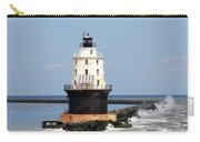 Harbor Of Refuge Light  And Breakwater Carry-all Pouch