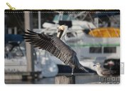 Harbor Pelican And Gull Carry-all Pouch