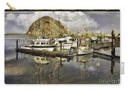 Harbor Reflection Impasto Carry-all Pouch