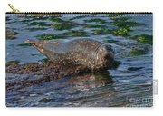 Harbor Seal At Low Tide Carry-all Pouch