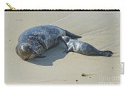 Harbor Seal Suckling Young Carry-all Pouch