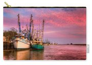 Harbor Sunset Carry-all Pouch by Debra and Dave Vanderlaan