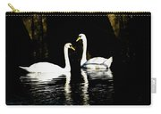 Harbor Swans Carry-all Pouch