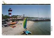 Harbor Town Beach 2 In Hilton Head Carry-all Pouch