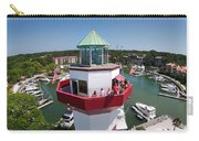 Harbor Town Lighthouse In Hilton Head Carry-all Pouch