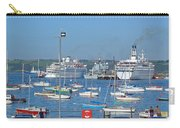 Harbour And Queen's Wharf - Falmouth Carry-all Pouch