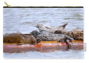 Harbour Seals Lounging Carry-all Pouch