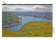 Harbour View From Signal Hill National Historic Site In Saint John's-nl Carry-all Pouch