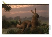 Hares In The Wetlands Carry-all Pouch