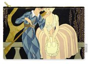 Harlequin's Kiss Carry-all Pouch by Georges Barbier