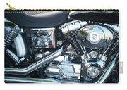 Harley Black And Silver Sideview Carry-all Pouch
