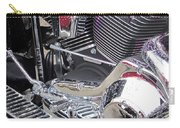 Harley Close-up Purple Lights Carry-all Pouch