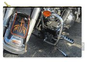 Harley Close-up W Shadow 1 Carry-all Pouch