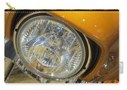 Harley Close-up Yellow 2 Carry-all Pouch