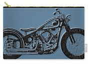 Harley-davidson And Words Carry-all Pouch