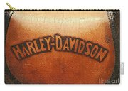 Harley Davidson Leather Tool Bag  Carry-all Pouch