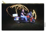 Harley Davidson Light Painting Carry-all Pouch