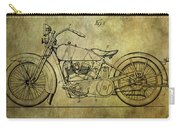 Harley Davidson Motorbike Patent  Carry-all Pouch