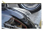 Harley Davidson Motorcycle American Eagle Fender Ornament Usa Carry-all Pouch