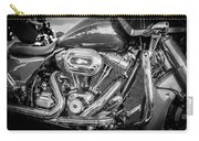 Harley Davidson Motorcycle Harley Bike Bw  Carry-all Pouch