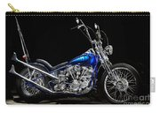 Harley-davidson Panhead Chopper From The Wild Angels Carry-all Pouch