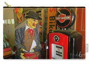 Harley Davidson Vintage Gas Pump Carry-all Pouch