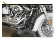 Harley Engine Close-up Rain 1 Carry-all Pouch
