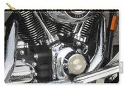 Harley Engine Close-up Rain 3 Carry-all Pouch