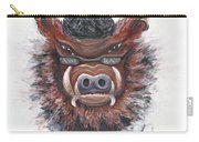 Harley Hog Carry-all Pouch by Nadine Rippelmeyer
