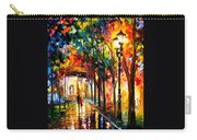 Harmony - Palette Knife Oil Painting On Canvas By Leonid Afremov Carry-all Pouch