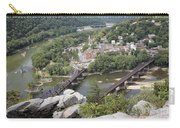 Harpers Ferry Viewed From Maryland Heights Carry-all Pouch
