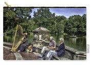 Harpist - Central Park Carry-all Pouch