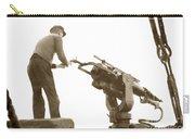 harpoon gun Moss Landing whaling Monterey Bay circa 1920 Carry-all Pouch