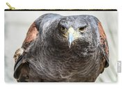 Harris Hawk Ready For Attack Carry-all Pouch