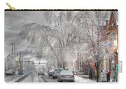 Harrisburg On Ice Carry-all Pouch by Lori Deiter