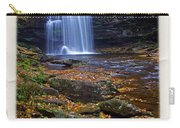 Harrison Wright Falls In Autumn Carry-all Pouch